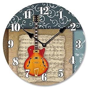 Amazoncom Music Theme Wall Clock 15 Home Kitchen