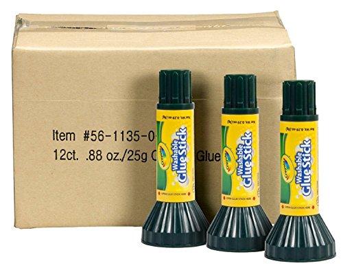 Crayola 56-1135 Washable gluesticks, 0.88-oz., Case of 4 Dozens by Crayola (Image #1)
