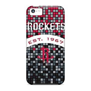 Durable Cases For The Iphone 5c- Eco-friendly Retail Packaging(houston Rockets)