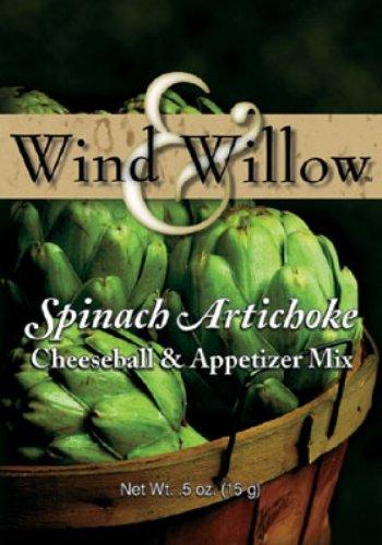spinach artichoke cheese ball mix - 3