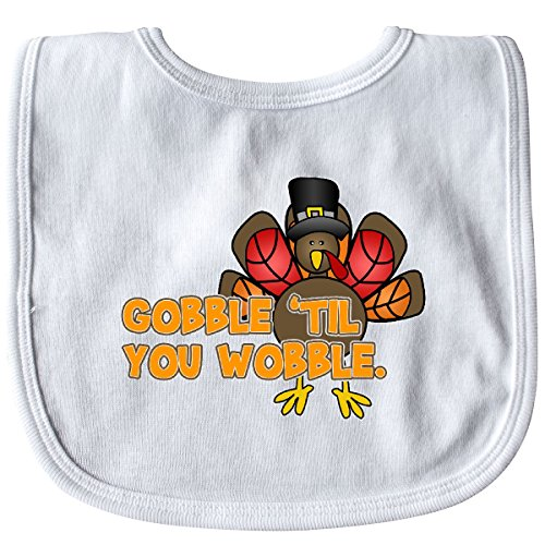 il' You Wobble Baby Bib White ()
