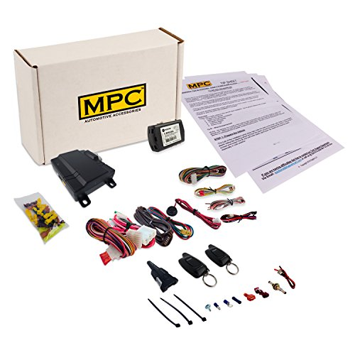 MPC EZ Install 1-Button 2 Way Remote Start Kit for Honda/Acura. Includes Bypass!