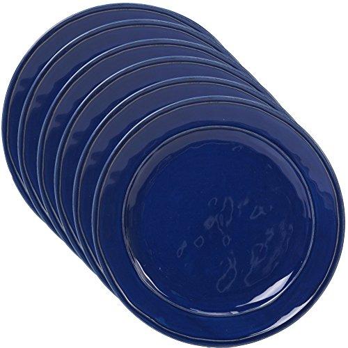 Cobalt Glass Blue Solid - Certified International Corp 22875SET6 Orbit Cobalt Blue 11