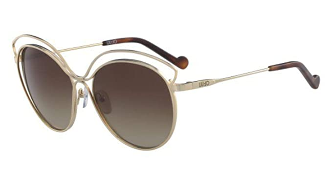 Liu Jo Lj112S 717 58 Gafas de sol, Shiny Gold, Mujer: Amazon ...