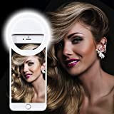 Selfie Ring light, XINBAOHONG Rechargeable Portable Clip-on...