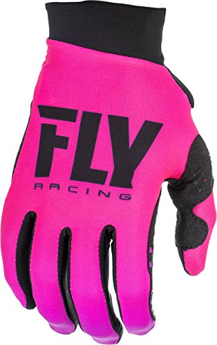 Fly Pro Lite Gloves - Fly Racing 2019 Women's Pro Lite Gloves Neon Pink/Black Size 09