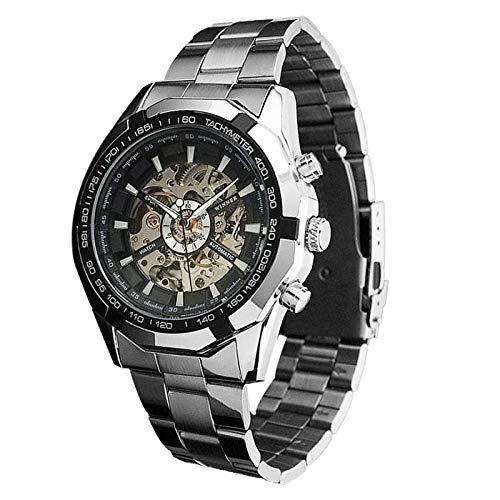 VEHOME Relojes Inteligentes relojero Reloj reloje hombresRelojes de Pulsera Marcas Deportivos-Reloj Steampunk para Hombre mecánico automático para Hombre ...