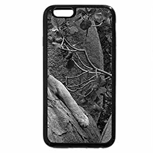iPhone 6S Case, iPhone 6 Case (Black & White) - I'm so tired ... let me rest