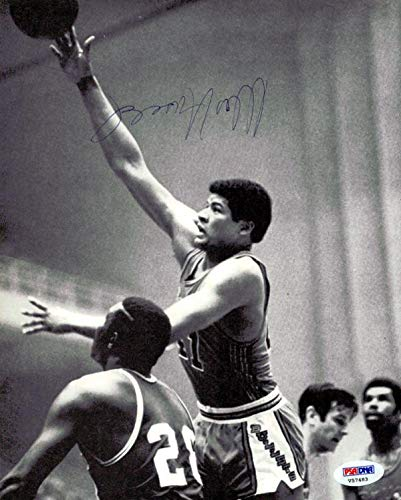 Wes Unseld Autographed Magazine Page Photo Washington Bullets #V57483 PSA/DNA Certified Autographed NBA Magazines