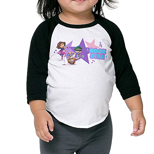 Dora The Explorer Raglan Tee Toddler Cotton Baseball Sleeve Child Personalize