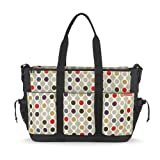 Skip Hop Duo Double Deluxe Diaper Bag, Wave Dot