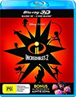 Incredibles 2 3D (Blu-ray 3D/2 Disc Blu-ray) by Disney