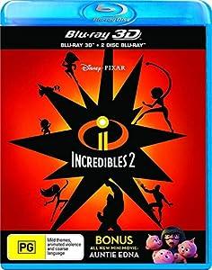 Incredibles 2 3D (Blu-ray 3D/2 Disc Blu-ray) by Disney