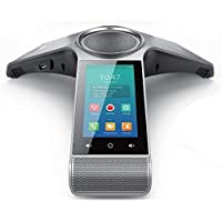 Yealink CP960-2WM Conference Android Phone HD Optima WiFi BT USB w 2 Wired Mic