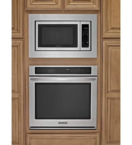 Kitchenaid Black Microwave: KitchenAid KCMS1655BBL 1.6 Cu. Ft. Full-Size Microwave