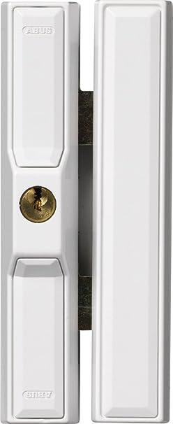 ABUS 107535 - Cierre antirrobo con cerradura para ventana (FTS88 EK), color blanco: Amazon.es: Bricolaje y herramientas