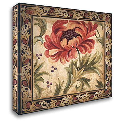 Floral Daydream II 28x28 Gallery Wrapped Stretched Canvas Art by Jardine, Liz ()
