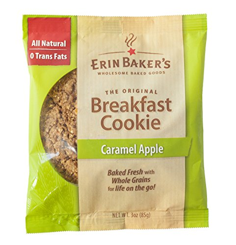 Erin Baker's Breakfast Cookie Caramel Apple, 3-Ounce Indi...