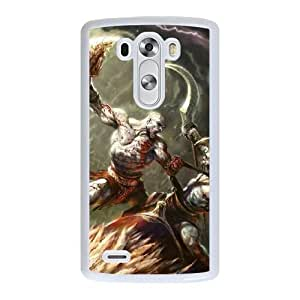 The best gift for Halloween and Christmas LG G3 Cell Phone Case White God of War II RPR1725673