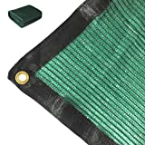 Didaoffle 70% Sunblock Shade Net Green UV Resistant, Premium Garden Shade Mesh Tarp, Top Shade Cloth Quality Panel for Flowers, Plants, Patio Lawn, Customized (12ft x 10ft)