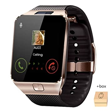 YWHY Relojes Bluetooth Smart Watch para Hombre Deportes ...