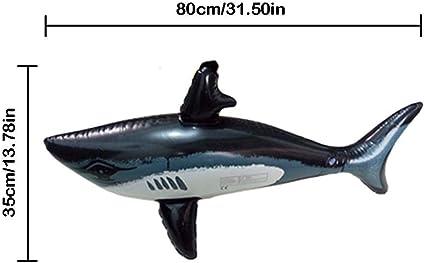 Amazon.com: Taimot - Juguete hinchable de tiburones con ...