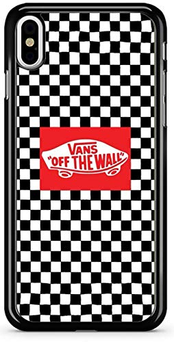 Vans Off The Wall Checkerboard Black & White iPhone Case (iPhone Xs MAX)
