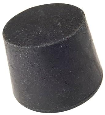 25mm Length R6200-11.5 50mm Bottom Diameter 63mm Top Diameter Plasticoid N115M290 Black Rubber Solid Stopper 11.5 Size