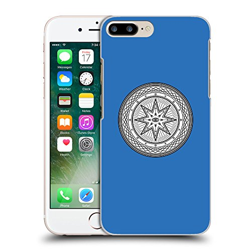 GoGoMobile Coque de Protection TPU Silicone Case pour // Q09700608 Mystique occulte 19 Azur // Apple iPhone 7 PLUS