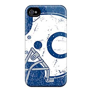 Bumper Hard Phone Cover For Iphone 6 (ixU11230QJhJ) Allow Personal Design Nice Indianapolis Colts Skin