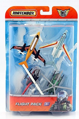 Amazon.com: Matchbox skybusters Pack de 4 Aviones Sky Force ...