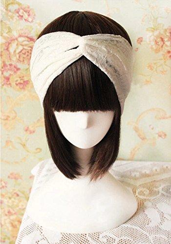 Amazon.com : Skyluna® Stretchy Lace Turban Headband Women ...