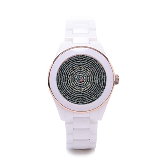 Queensland de cerámica reloj para mujer diseño elegante barato reloj última moda