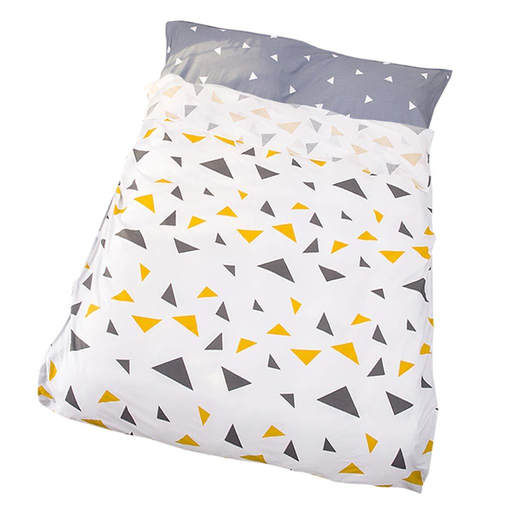 120x230cm SM SunniMix Naturally Hypoallergenic 100/% Cotton Travel Sheet//Sleeping Bag Liner//Sleep Bag Sack for Adventurous Travelers,Lightweight /&Soft