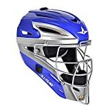 All Star System 7 Two Tone Catchers Helmets Royal/Grey - 3/4