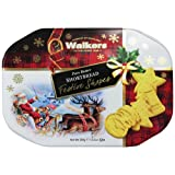 Walkers Pure Butter Shortbread-Festive Shapes Cookies, 350 Gram