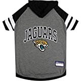 Jacksonville Jaguars Pet Hoodie T-Shirt - Small