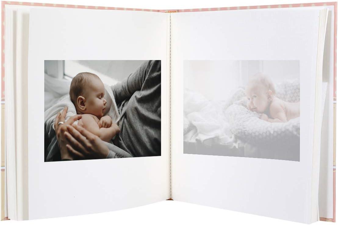 Album Photo B/éb/é CINZIA 60 pages ROSE