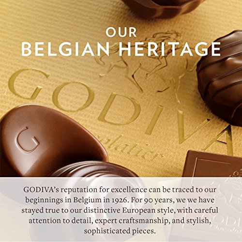 Godiva Chocolatier 36 Individually Packaged, 2-Piece Belgian Chocolate Gold Ballotins, Perfect for Bridal Showers - Parties - Wedding Favors by GODIVA Chocolatier (Image #3)