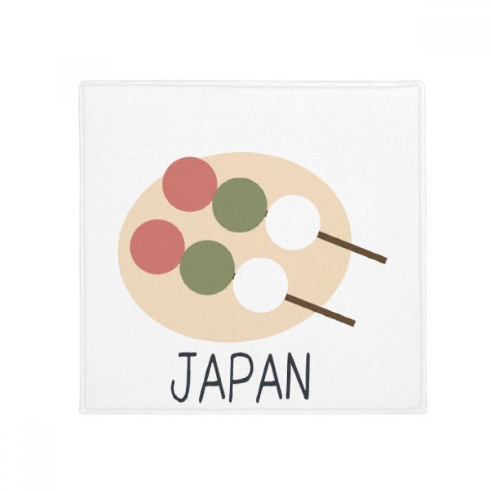 DIYthinker Traditional Japanese Local Snack Ball Anti-Slip Floor Pet Mat Square Home Kitchen Door 80Cm Gift