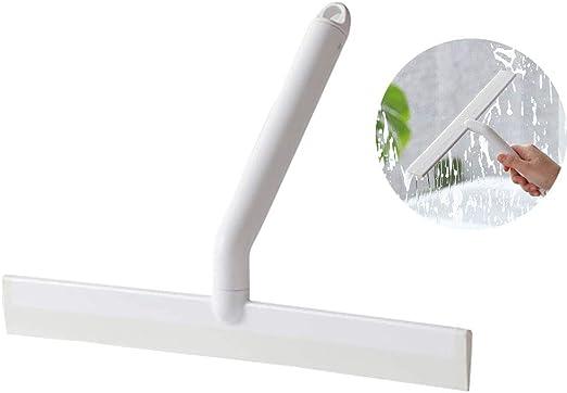 Baffect Plástico Limpiacristales Ducha, Limpia Cristales Limpiador de Ventanas Espejo Baño Cepillo de Limpieza con Gancho, plástico: Amazon.es: Hogar