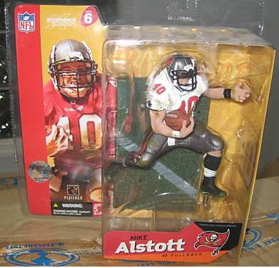 Mike Alstott Nfl - McFarlane NFL Series 6 Mike Alstott in Tampa Bay Bucaneers White Jersey Chase Variant Figure