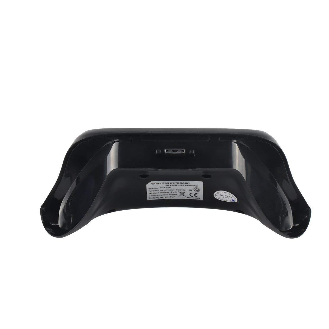 LoveOlvidoE 47 Teclas Inalámbrico 2.4G Práctico Mini Handheld Teclado Gaming Mensaje Gamepad Teclado para Xbox One S Controlador: Amazon.es: Electrónica