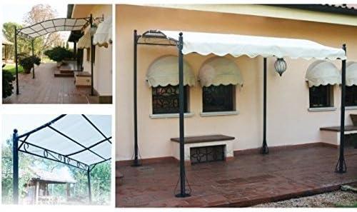 Lona de protección para pérgola 2,5 x 3, impermeable, color ecru: Amazon.es: Bricolaje y herramientas