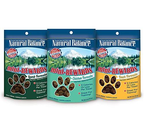 Natural Balance Mini Rewards Dog Treats Variety Pack Bundle by Natural Balance