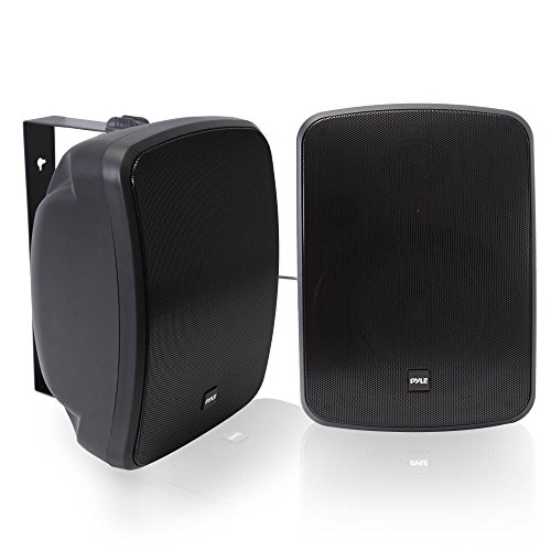 Pyle Bluetooth Dual 6.5'' Wall-Mount Marine Speakers