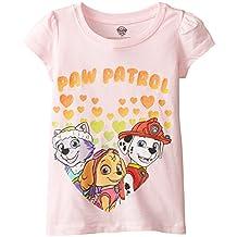FREEZE Little Girls' Paw Patrol Hearts Toddler Short Sleeve Tee