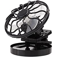 Refaxi Solar Energy Powered Clip-on Portable Mini Fan Energy Saving Travel Summer Camping