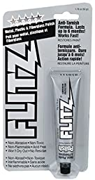 Flitz Metal Polish Tarnish Tube 50 Gram , 1.75 Oz, 2-Pack