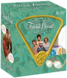 [해외]Trivial Pursuit Golden Girls Trivia Game ♥ 골든 걸 TV 쇼 테마 게임 aœ\u201d 600 황금 소녀의 모든 고전적인 순간을 다시 살려주는 질문 - 테마 추구 게임 당신의 지식 테스트 / Trivial Pursuit Golden Girls Trivia Game | Golden Girls TV Show...